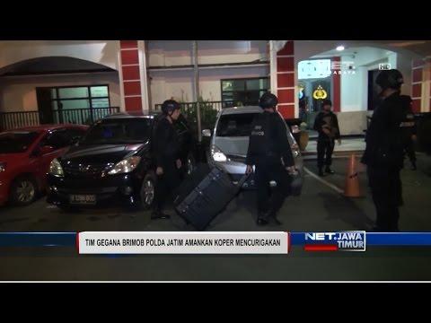 NET. JATIM - KOPER DIDUGA BOM DI JEMBATAN MERAH PLASA SURABAYA