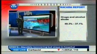 News:NACADA reports a drop in alcohol and drug use in Kenya