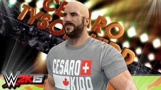 WWE 2K15 PC Mods : Cesaro Updated Model & Titantron! (Fully Bald)