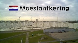 "HOLLAND: Storm surge barrier ""Maeslantkering"""