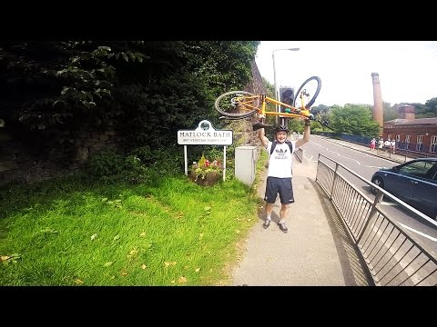 Cycling to Matlock and Bath (GoPro HERO4 Silver Edition)
