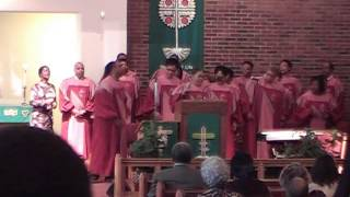 """How Great Is Our God"" Barnes Sanctuary Choir"