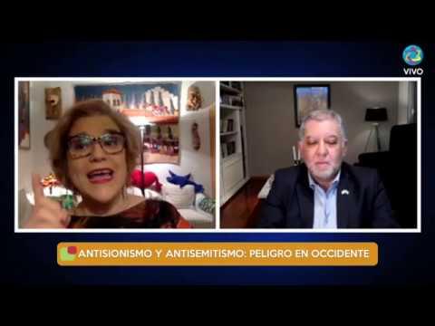Conferencia De Pilar Rahola En La OSA Sobre Antisionismo Y Antisemitismo