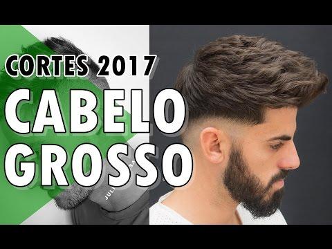 Cortes Masculinos 2017 Para Cabelo Grosso Estilos De