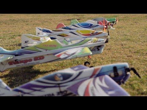 TechOne 3D RC Planes Flying Crazy At The Pasadena Rosebowl