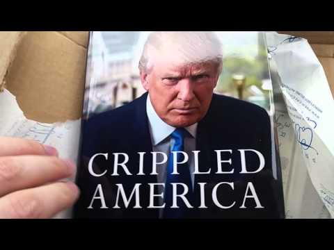 Donald Trumps Certified Autograph Unboxing Crippled America