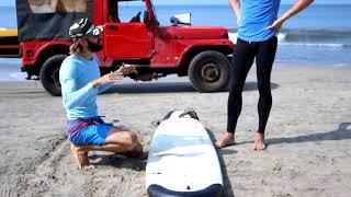 Урок сёрфинга Доступно с Виталием Далиевом