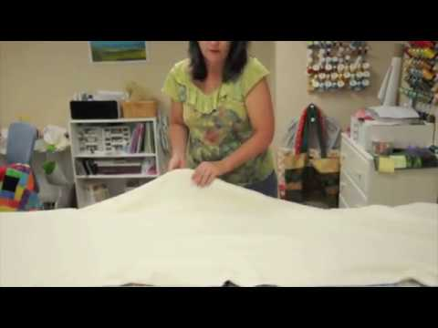 How to Sandwich a Large Quilt on a Small Table - YouTube : sandwich quilt instructions - Adamdwight.com