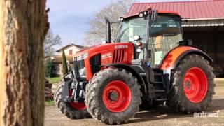 KUBOTA M7.171 KVT Essai Tracteur Test drive