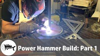 Blacksmithing : making a small power hammer part 1