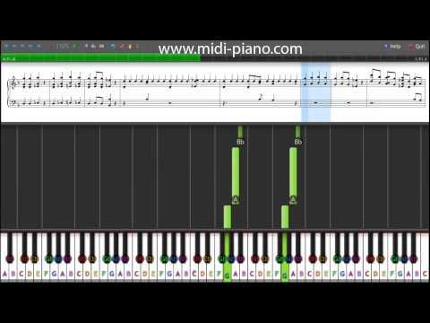 The Cherry Blossoms - Sakura Sakura - Piano Tutorial With Sheet Music
