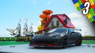 Forza Horizon 4 LEGO DLC - Part 3 - Building my LEGO Garage!