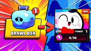 One Box.. One Chromatic Brawler Lou.. INSANE LOU PULL!