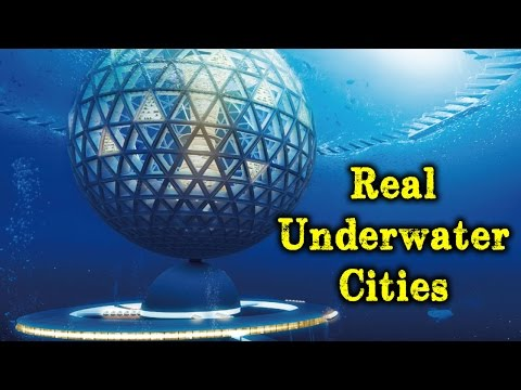 10 Real Underwater Cities