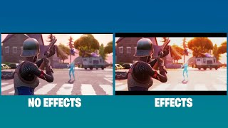 'Goat' Fortnite Intro With and Without Effects!!