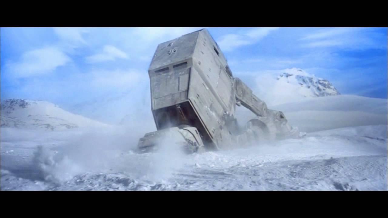The Empire Strikes Back   AT-AT shot compilation. - YouTube