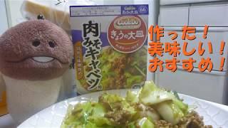 【きょうの大皿】「肉みそキャベツ」作ってみた。美味しくできた。 thumbnail