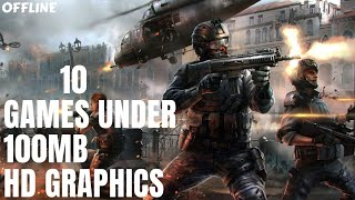 Most amazing Top 10 games - offline - under 100mb on Android/ios|Best HD graphics Games must play