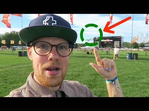 WHEN SCIENTISTS GO TO MUSIC FESTIVALS!