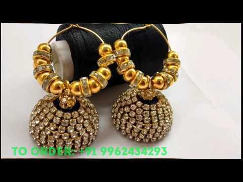 Latest &Trendy Earrings ||Silk thread Earring|| Handmade Jewellery|| Silk thread Jewellery