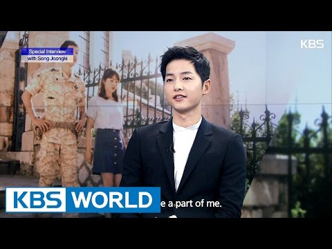 Special interview with  Song Joongki [Ver.2]