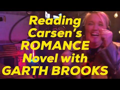 reading Carsen's romance novel starring Her & Garth - lol