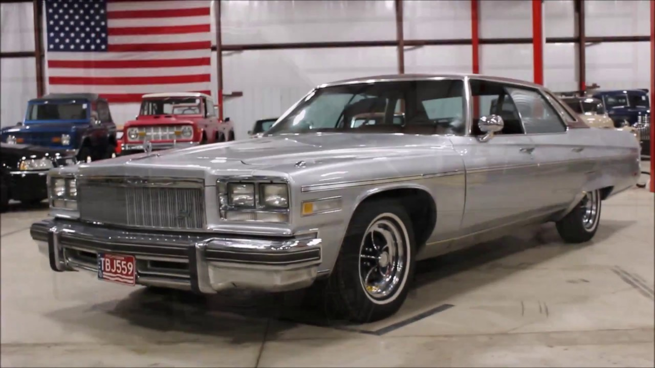 2 Door Convertible >> 1976 Buick Electra - YouTube