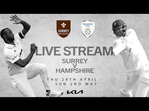 Surrey v Hampshire - Day 2