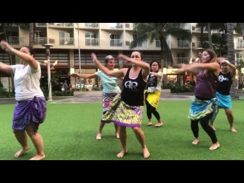 HOT HULA fitness® with Nickie - Waikiki Beach Walk Honolulu, HI
