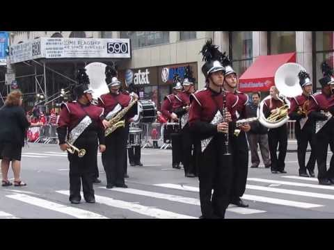 Pulaski Polish Day Parade in NYC - Clip 43 - Bayonne High School - Grajewo - October 06, 2013