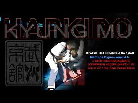 Dan test. Master Igor Suryenkov. 5 DAN Kyungmu Hapkido.