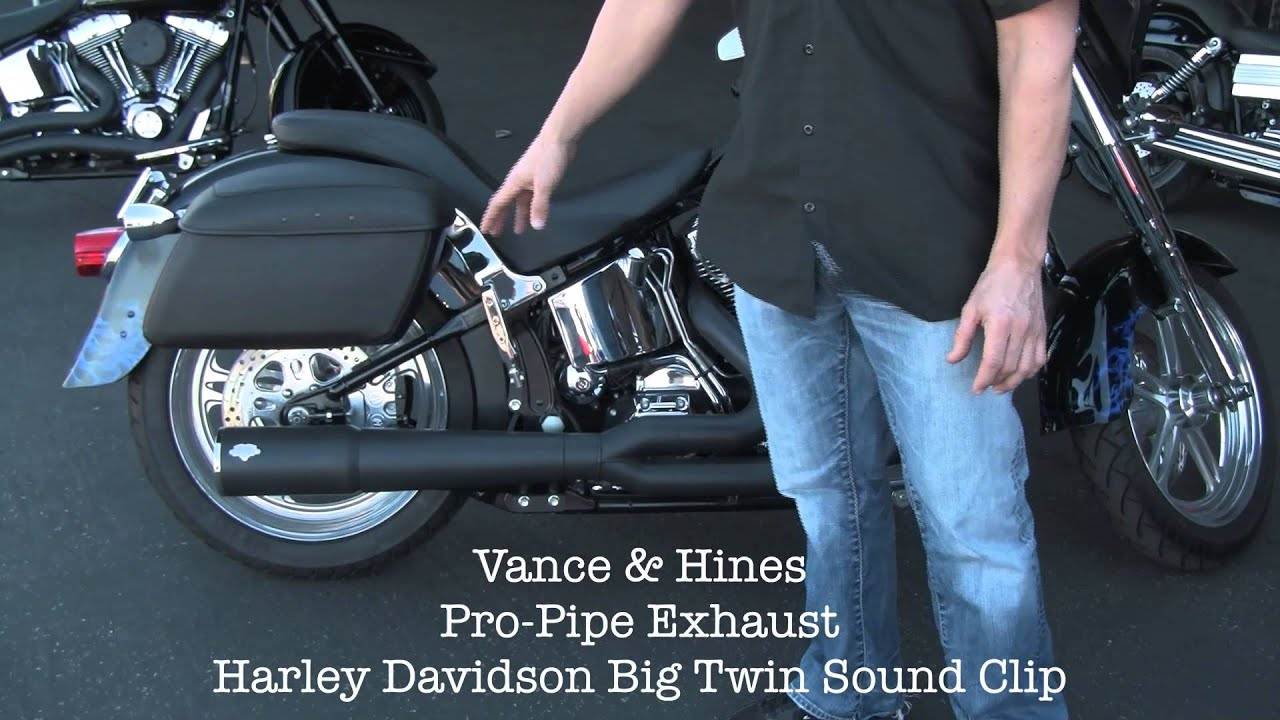 Vance And Hines Pro Pipe Hi Output Harley Davidson Exhaust