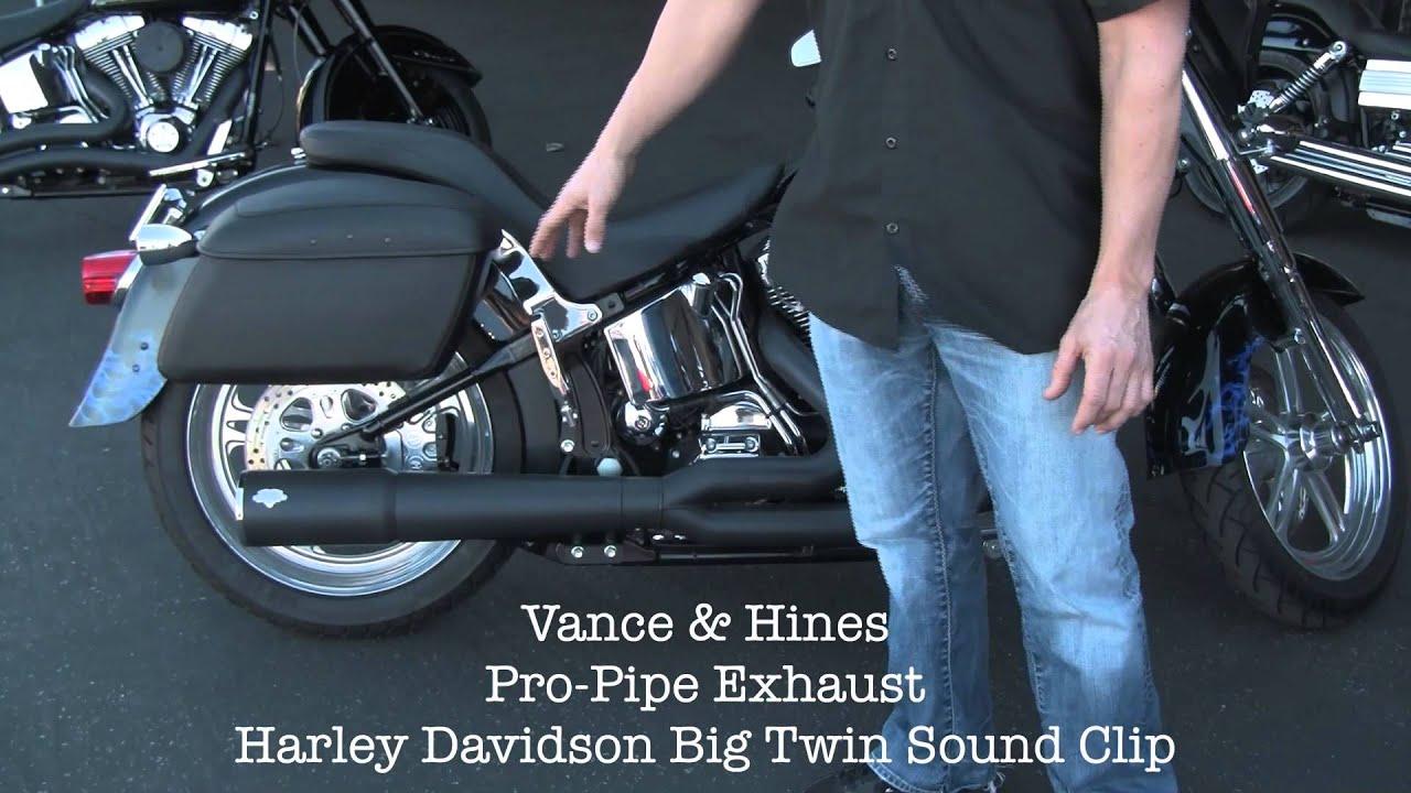 Harley Davidson Exhaust Vance And Hines