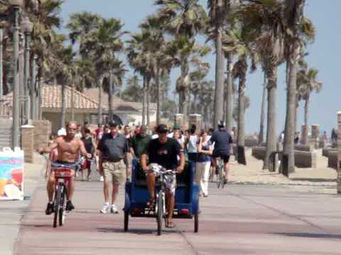 Huntington Beach Boardwalk | Huntington Beach California