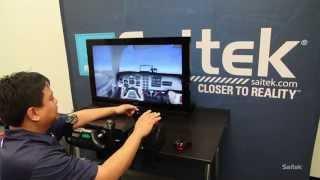 Saitek high-performance flight simulation hardware