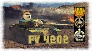 FV 4202 World Of Tank Blitz Aced Gameplay 6100 DMG + Commentary