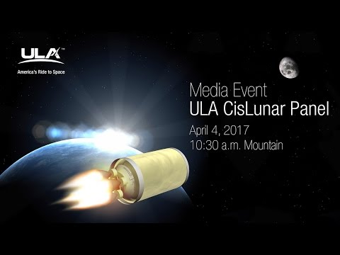 ULA Hosts CisLunar Panel at 33rd Space Symposium