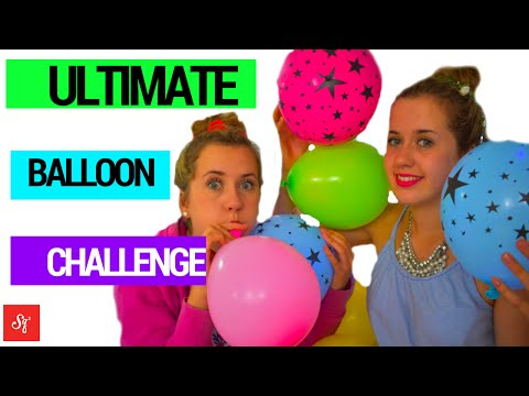 Ultimate Balloon Challenge! | Frankie and Izzy