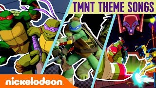 TMNT Theme Songs Through the Years! 🎶 | #TryThis