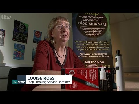 Vaping on ITV News 25/10/17