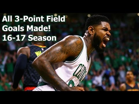 Amir Johnson the Sharpshooter