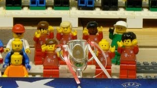 Champions League: Bayern win the 2013 final - brick-by-brick fussball