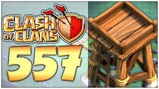 CLASH of CLANS Part 557: Clankrieg, MAUERN und Bogenschützenturm auf Level 3 ziehen!