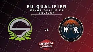 Team Singularity vs Wind and Rain Game 1 - DreamLeague S13 EU Qualifiers: Minor Qualifier Decider