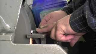 Grinding HSS Lathe Tools - Part 3: Grinding a Threading Tool