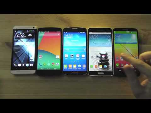 Top 5 5-inch Android Smartphones - Comparison & Hands On