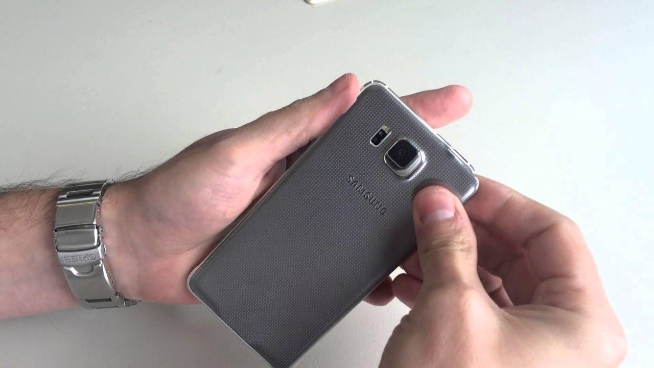 be3eadcee5c Tapa Trasera Samsung Galaxy Alpha G850 Negra ® Tecnocell Uy - $ 290,00 en  Mercado Libre