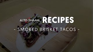 Smoked brisket tacos made in Alto-Shaam cook & hold smoker and combi ovens(Slow cooking and smoking in an Alto-Shaam cook & hold smoker oven ensures great yield and extremely tender brisket that's perfect for tacos. Chef Ryan ..., 2014-05-19T19:04:49.000Z)