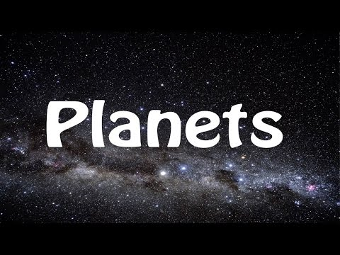 Planets Song  Learn the Planets  Poor Old Pluto!