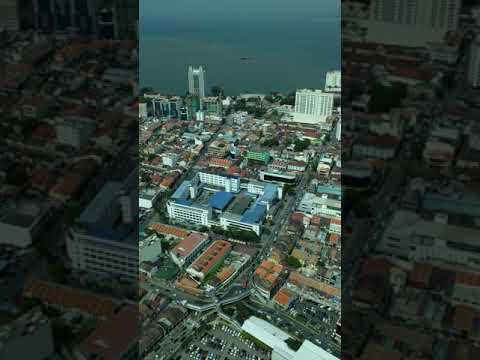 Penang - View from the Top (of Komtar's Rainbow Skywalk)